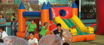 Inflable de Gusanito