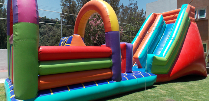 Renta de inflable Jr